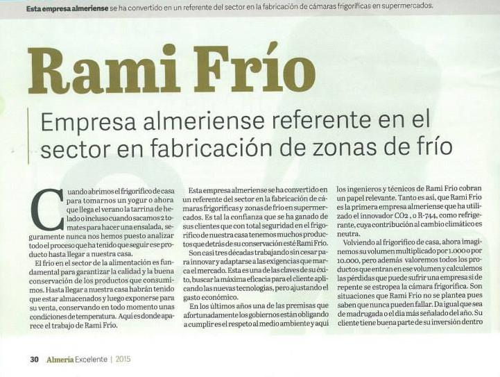 Ramifrio empresa lider referente